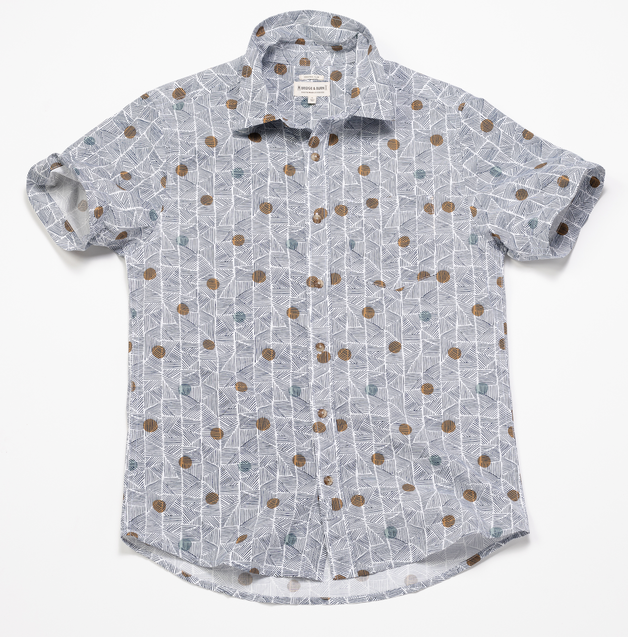 Short Sleeve Shirt – Geo Poko Print