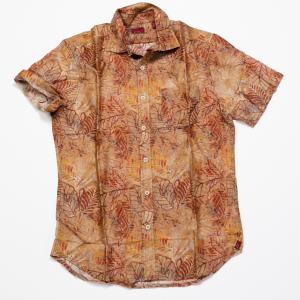 Short Sleeve Modal – Rusty Floral Print