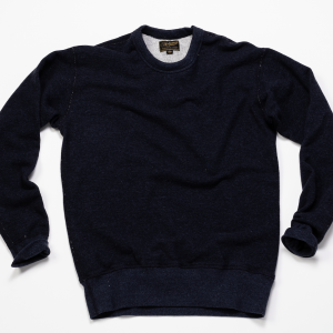Raglan Warm Up Fleece // Dark Indigo
