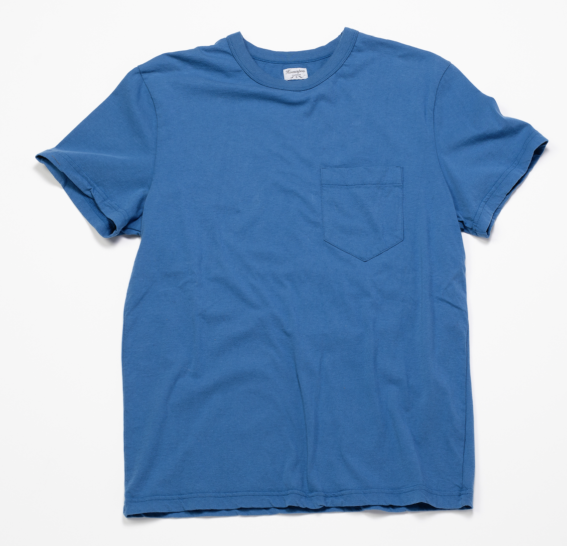 Short Sleeve Pocket Tee – Sky Blue