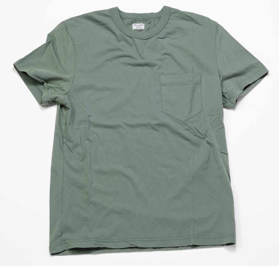 Short Sleeve Pocket Tee – Mint