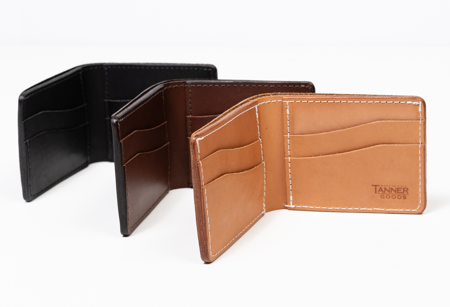 Utility Bifold Wallets – Various Colors