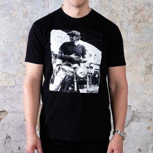 McQueen Collection Tees // #1 Motorcycle - Black
