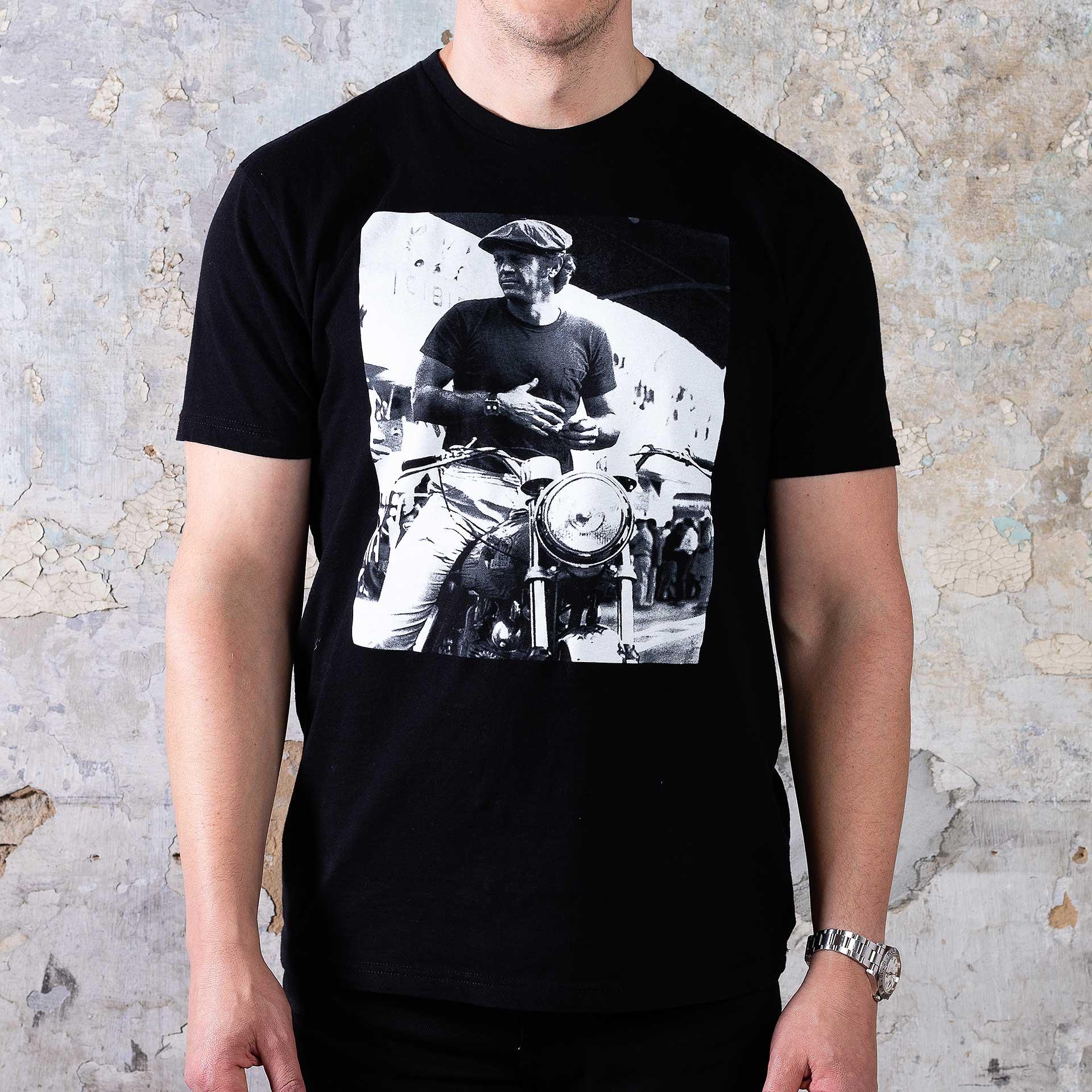 Franklin-&-Mercer-McQueen-Series-Tee-Motorcycle—Onbody-Shot
