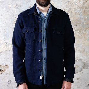 Anvil Shirt Jacket // Dark Indigo