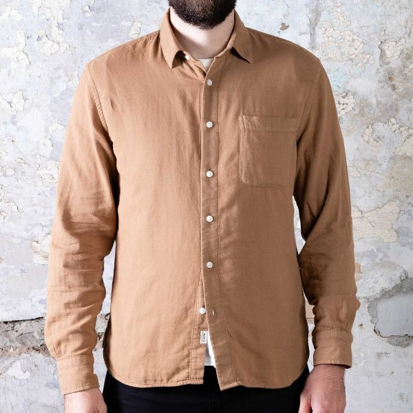 The Ripper Shirt // Camel
