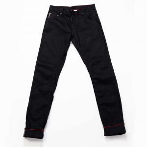 Martin Thin Taper Jean // Raw Black Selvedge