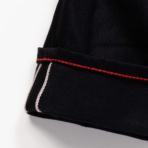 Raleigh-Denim-Workshop-Martin-Fit-Raw-Black-Detail-2-(zoom-in-on-the-hem)-Close