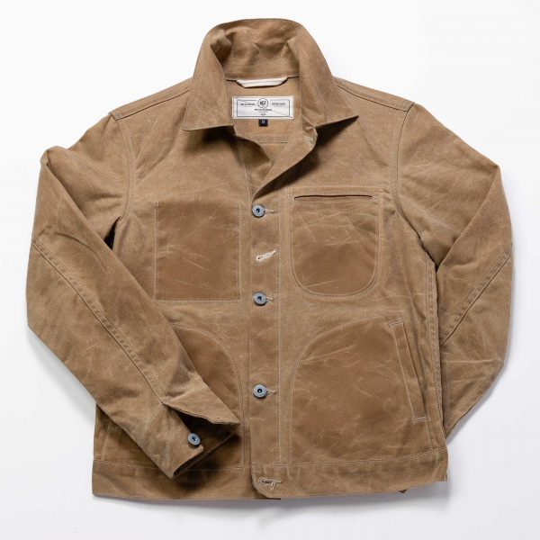 Ridgeline Supply Jacket // Tan