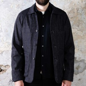 Explorer Blazer // Neppy Dark Indigo Denim