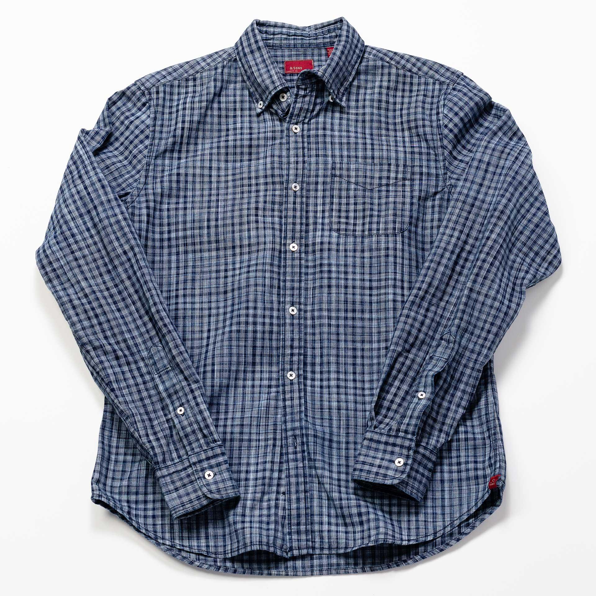 &-Sons-Garment-Co-Checkers-Shirt