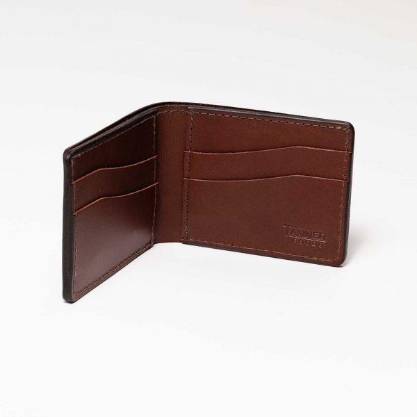Utility Bifold Wallets - Cognac