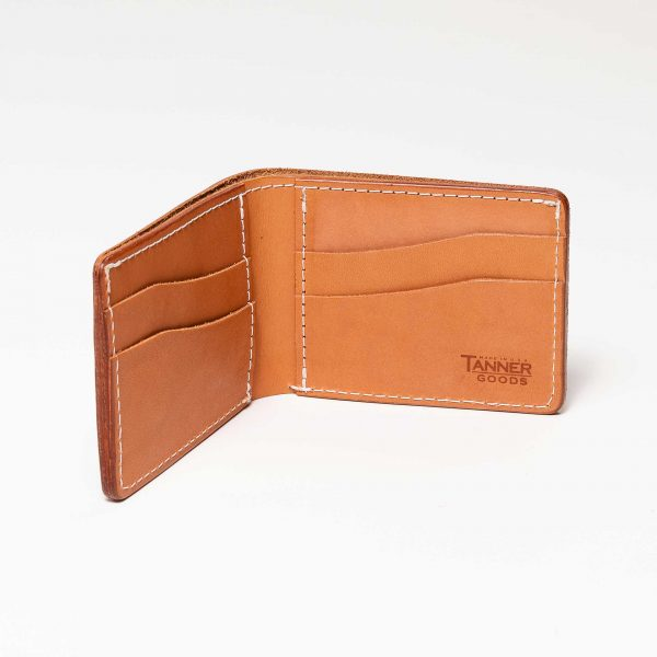 Utility Bifold Wallets - Natural