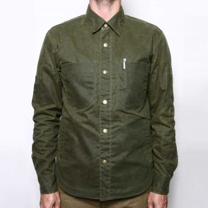 Patrol Shirt Waxed Olive
