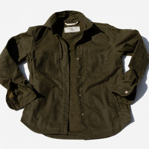 Patrol Shirt // Waxed Olive