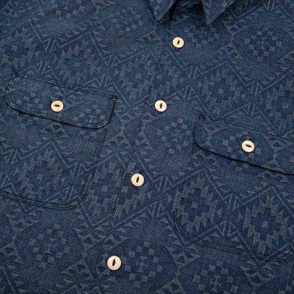 Benson Shirt // Southwestern – Navy