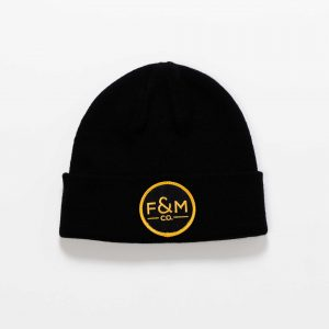 F&M Co. Beanie // Black