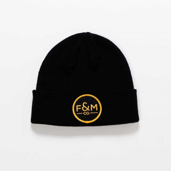 F&M Co. Beanie // Black