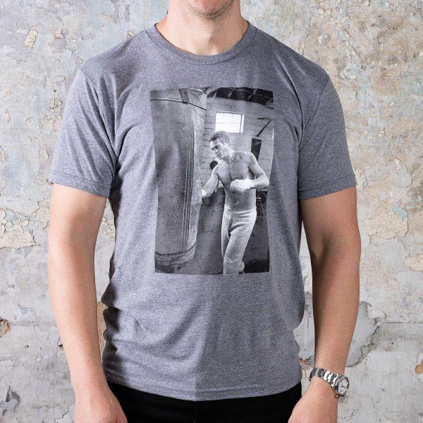McQueen Collection Tees // #3 Boxer - Grey