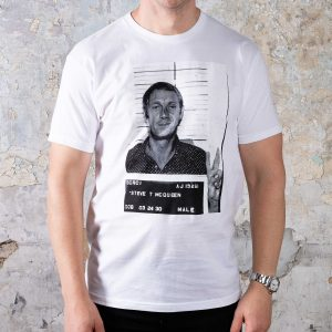 McQueen Collection Tees // #4 Mugshot - White