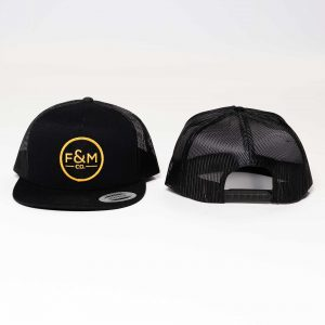 F&M Co. Trucker Hat // Black
