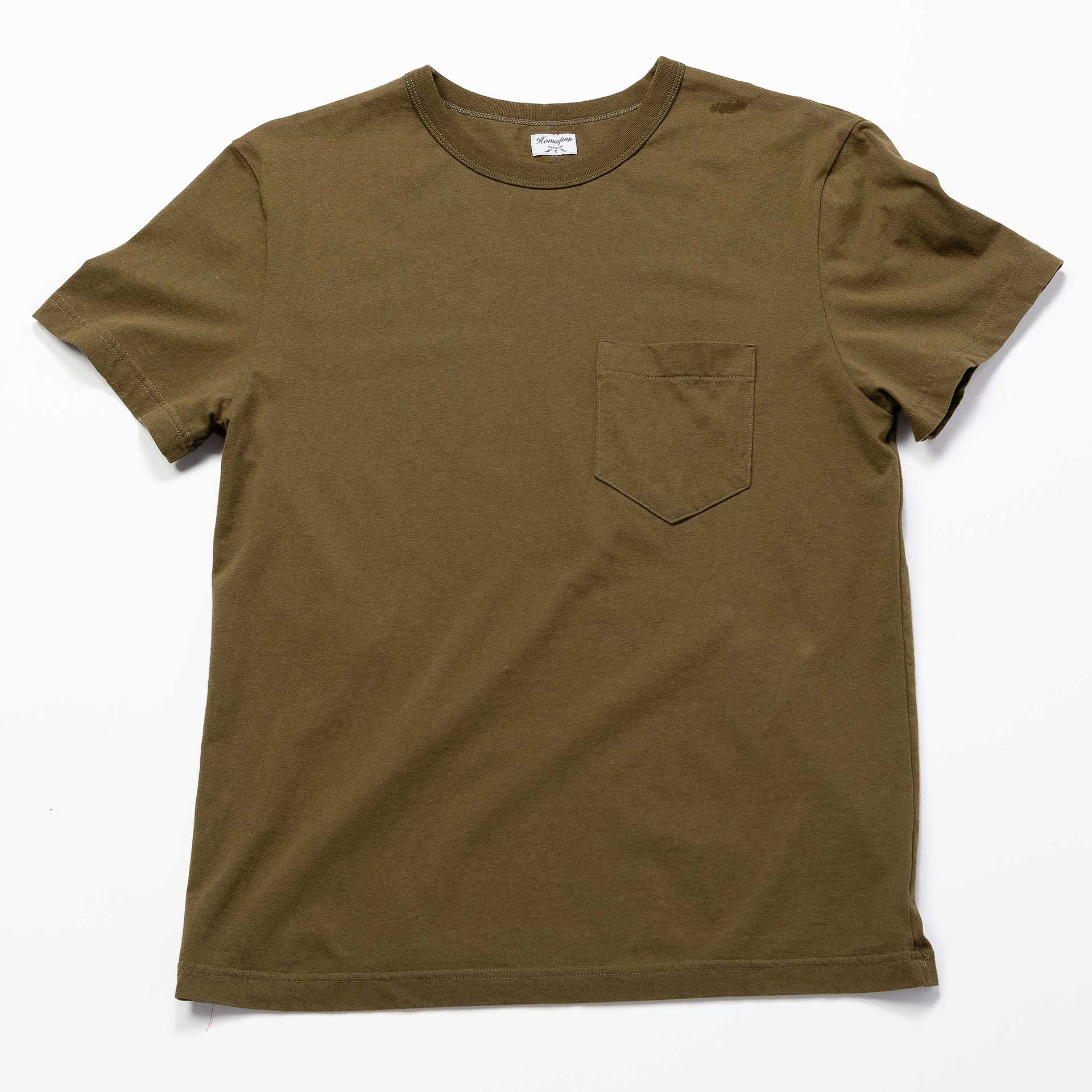 Homespun-Knitwear-Pocket-Tee-Military-Green
