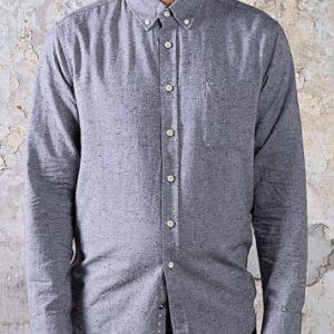 The Jack Shirt - Charcoal Fleck