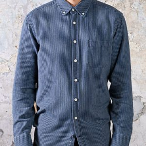 The Jack Shirt - Roped Indigo
