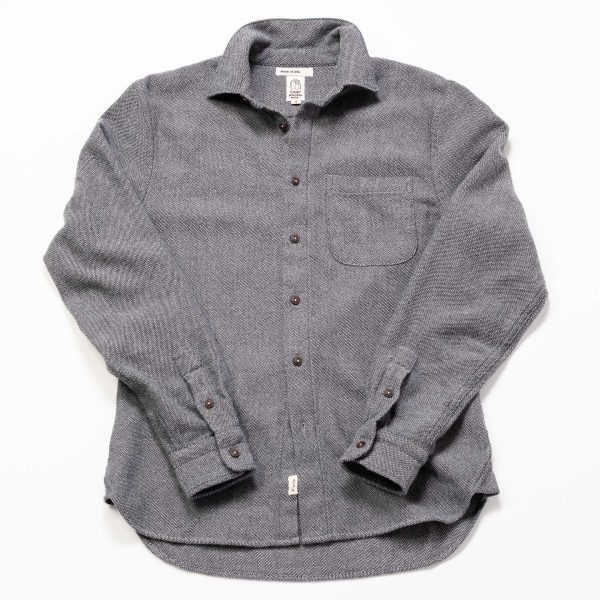 The Ripper Shirt // Birdseye Flannel - Grey