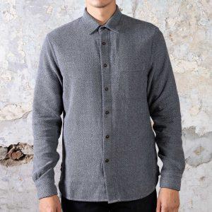 The Ripper Shirt // Birdseye Flannel - Grey