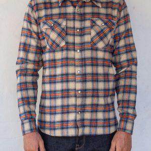 Lancaster Shirt // Vintage Plaid - Cream