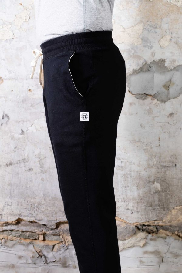 Classic Sweatpant // Mid-Weight Cuffed - Black