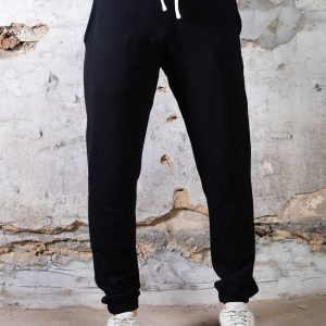 Classic Sweatpant // Mid-Weight Cuffed - Black