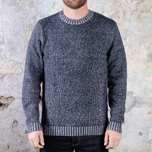 Taylor Stitch Headland Sweater – Marled Navy (replacement)
