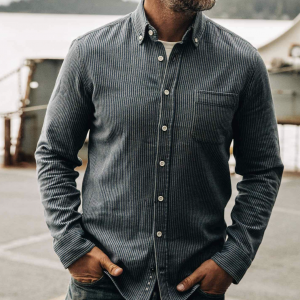The Jack Shirt - Roped Indigo