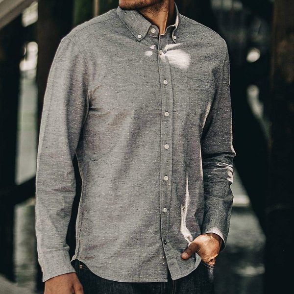 The Jack Shirt // Charcoal Fleck