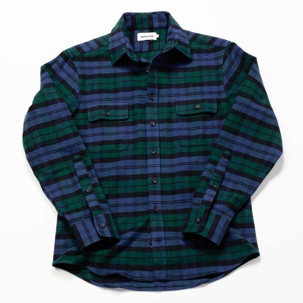 Yosemite Shirt - Blackwatch Plaid