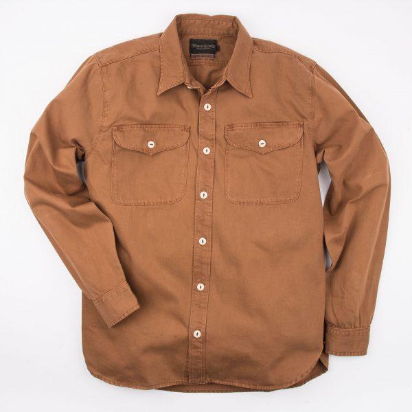 Utility Shirt // Overshirt -Tobacco