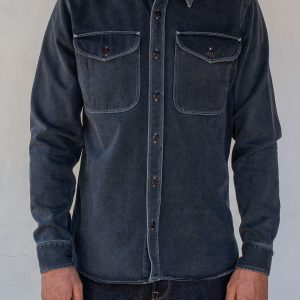 Utility Shirt // Limited Edition Overshirt - Charcoal