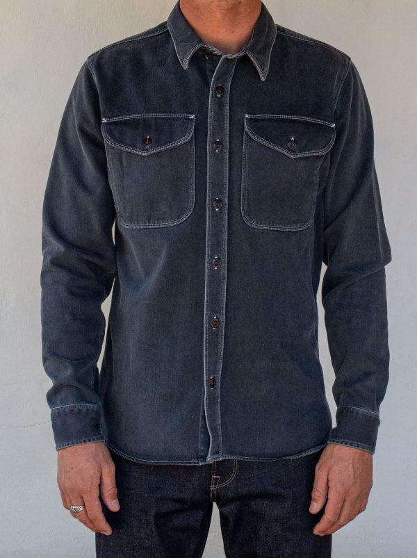 Utility Shirt // Limited Edition Overshirt - Charcoal