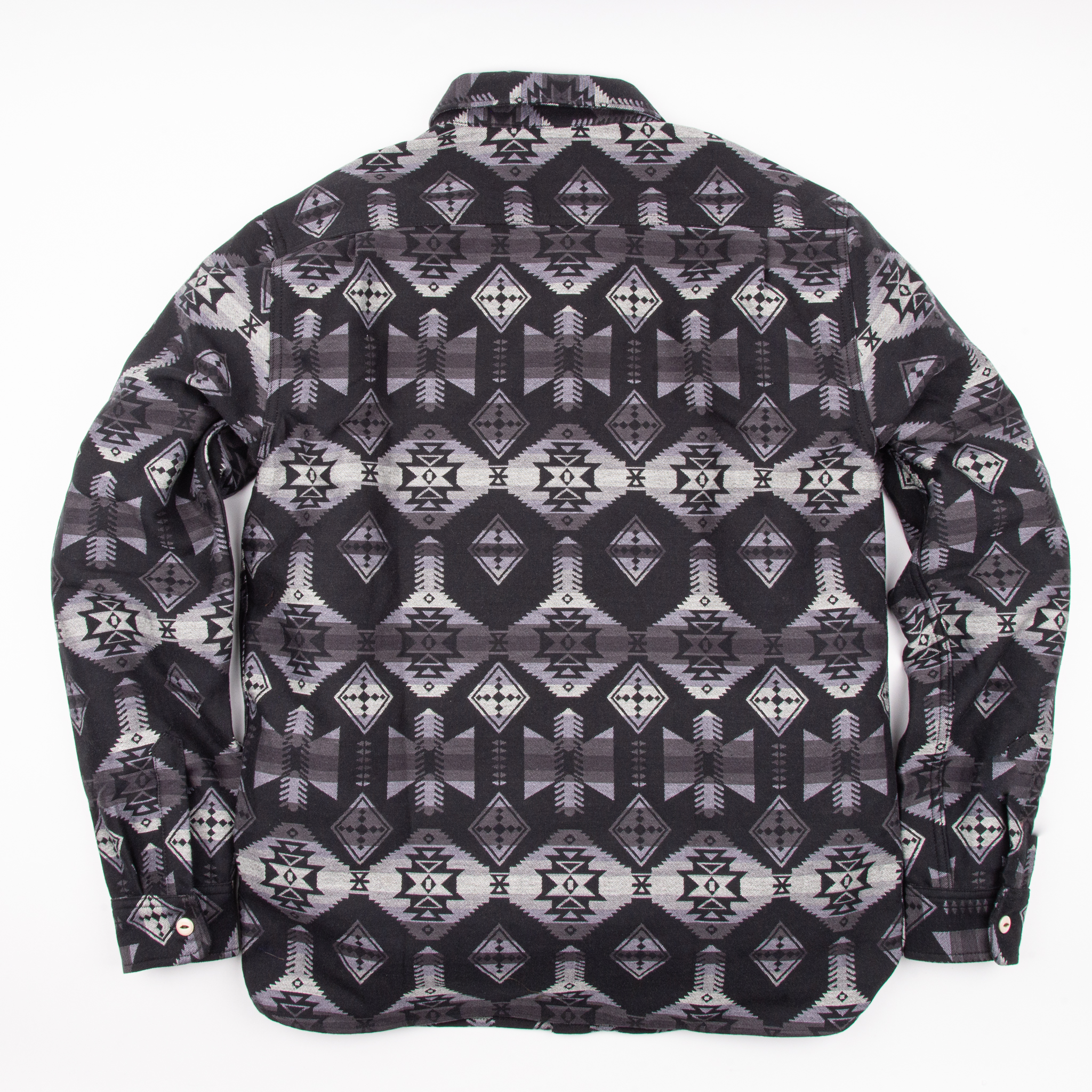 Alta CPO Shirt // Black Southwestern