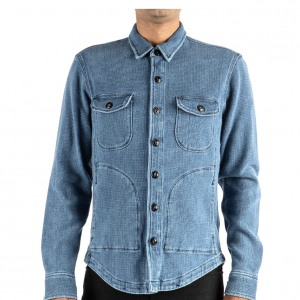 Anvil Shirt Jacket // Light Indigo