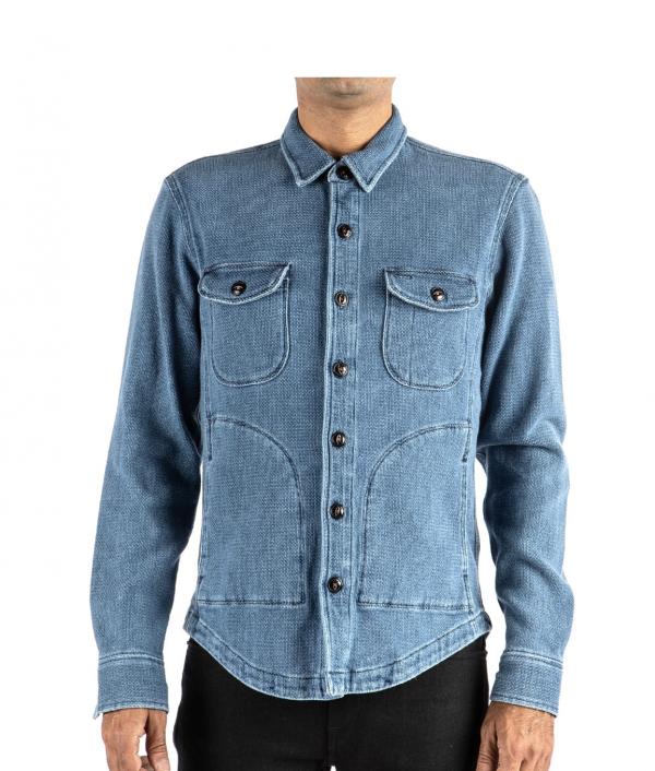 Anvil Shirt Jacket // Light Indigo