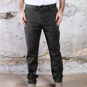 KATO The Axe Slim Chino :: 11oz 4-Way Stretch French Terry – Military Green (replacement)