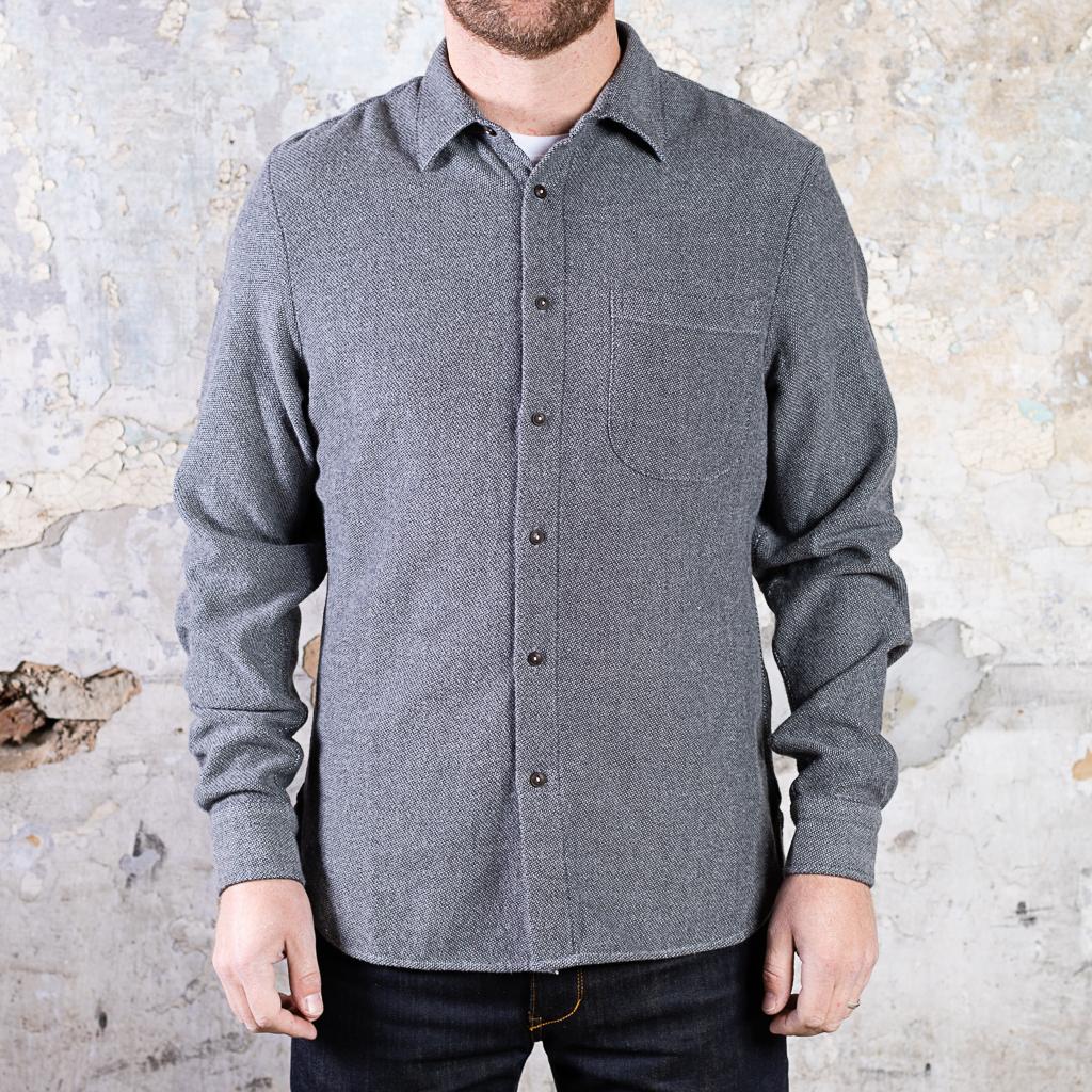 KATO The Ripper Shirt :: Birdseye Flannel – Grey (replacement)