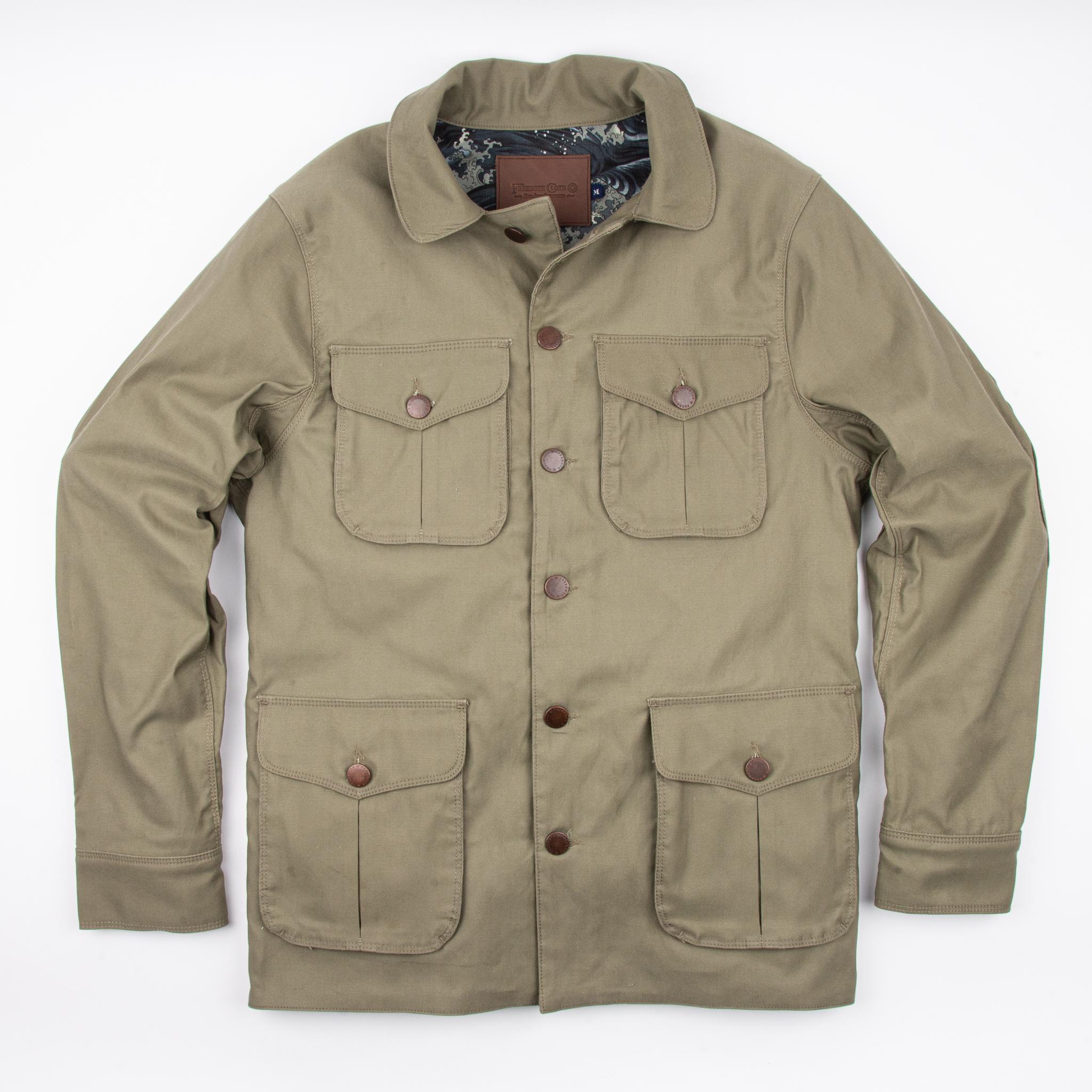 Keynot Field Jacket // Olive