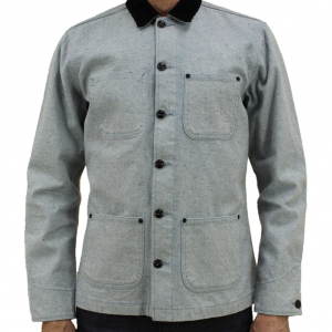 Vice Chore Coat // Recycled Cotton - Light Blue