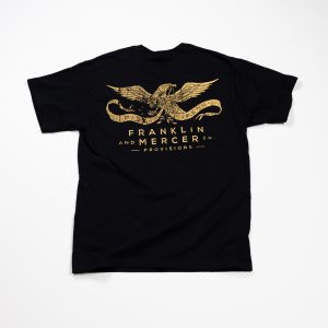 F&M Co. Heavyweight Shop Pocket Tee :: Antique Black Image 2
