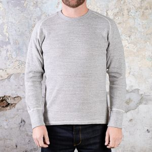 Long Sleeve Raglan Thermal // Grey