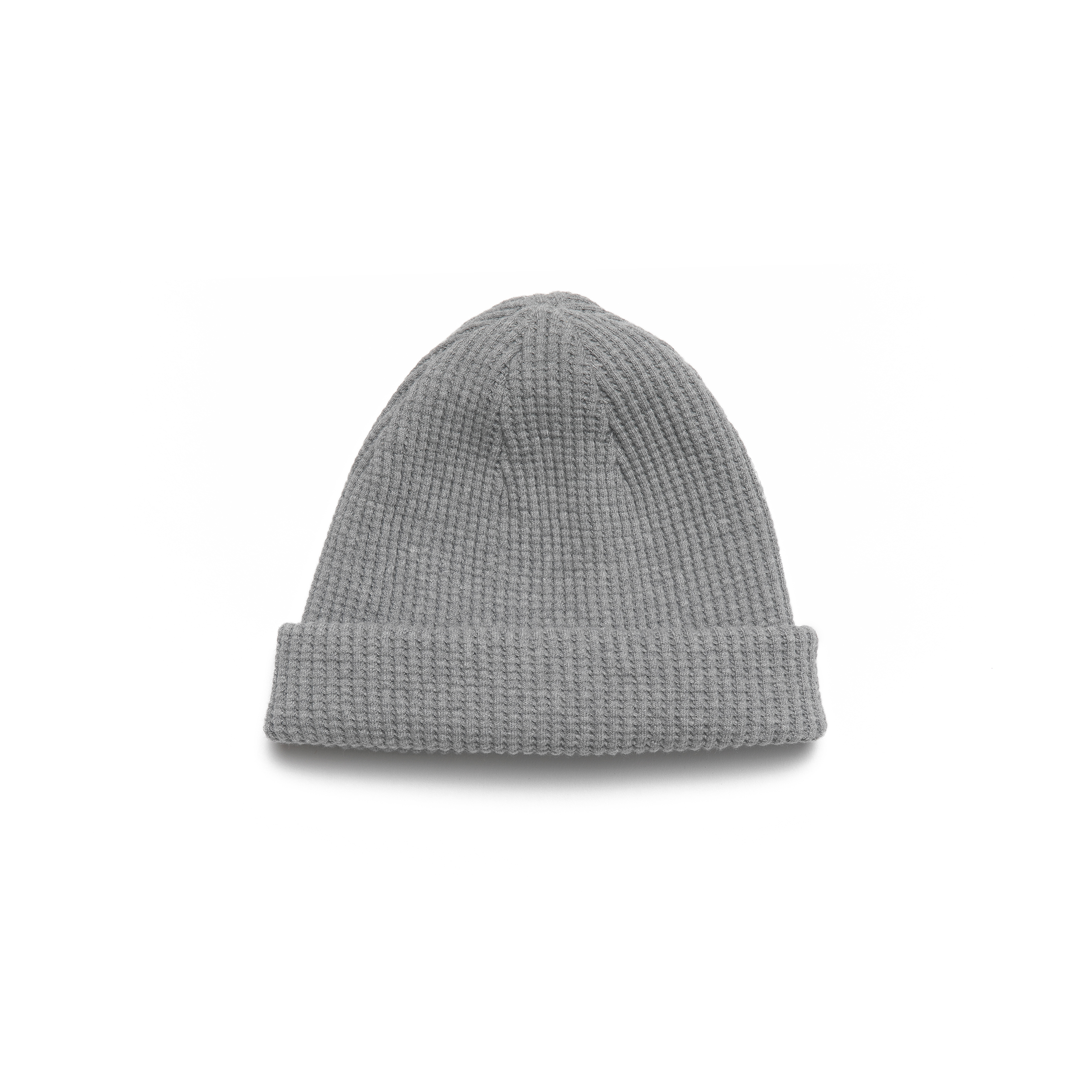 Homesun Knitwear Heavyweight Thermal Knit Cap :: Grey